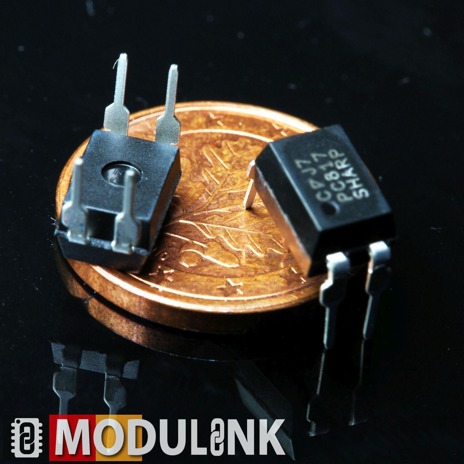 Optokoppler Optoisolator Module Ic Galvanische Trennung Tlp281 Pc817 Opto Isolator Circuit