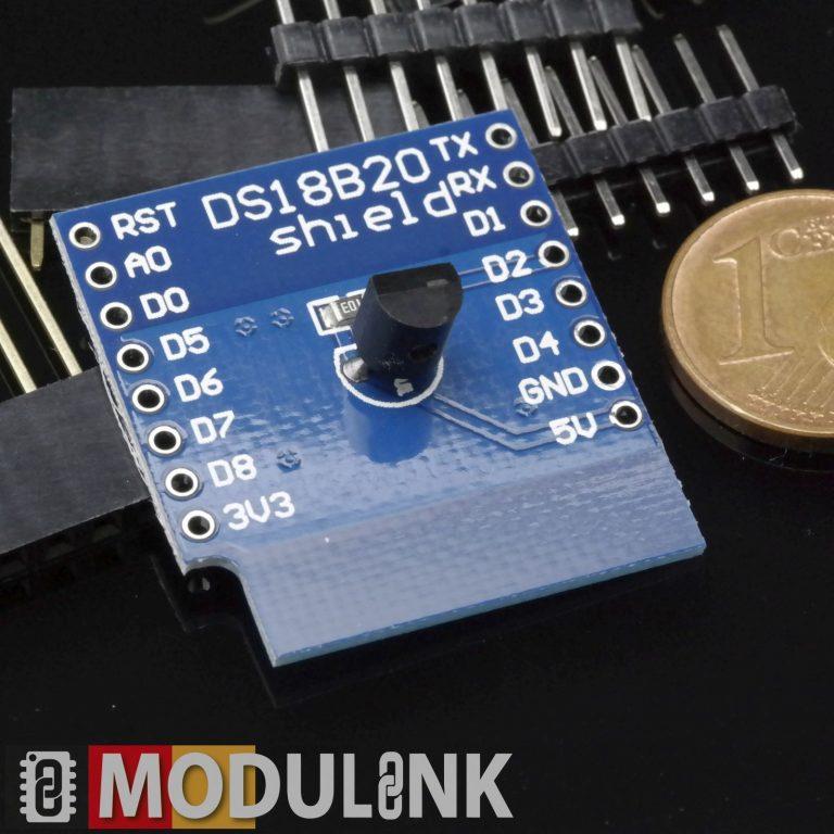DS18B20 Zum WeMos D1 Mini Temperatur Sensor W-lan Messung Erweiterung Modul HW